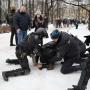 Акции протеста в Москве и Петербурге начались с задержаний
