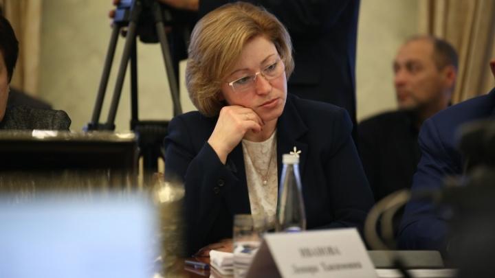 Министр труда Башкирии разозлила своим докладом Радия Хабирова