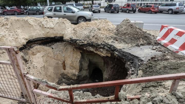 Останутся только трамваи: в Волгограде на пять дней перекроют улицу Краснознаменскую