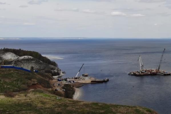 Мост планируют сдать через 3 года
