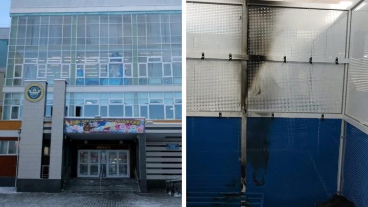 Родители школьников считают причиной пожара в Академическом взорвавшийся вейп