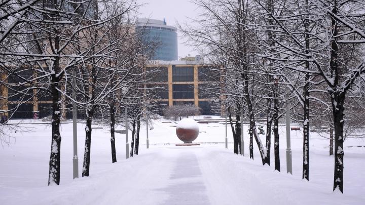 Синоптики предупредили о гололедице в Екатеринбурге