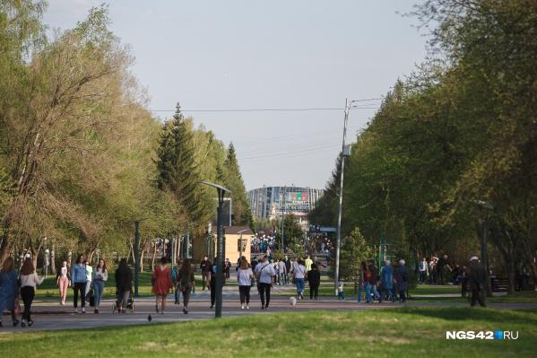 Одной из площадок, где будут транслировать матчи, станет бульвар Строителей