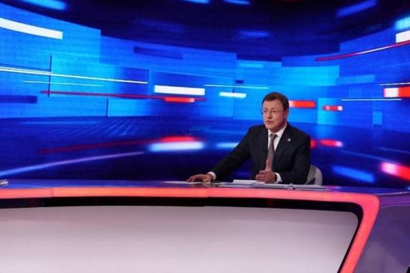 Об этом Дмитрий Азаров сообщил в прямом эфире