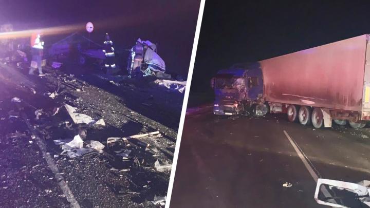 Водитель «Газели» разбился на трассе Екатеринбург — Тюмень