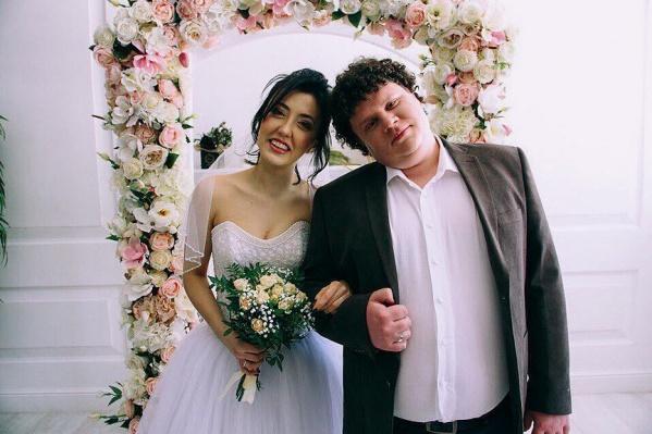 Ригина и Евгений поженились весной 2020 года