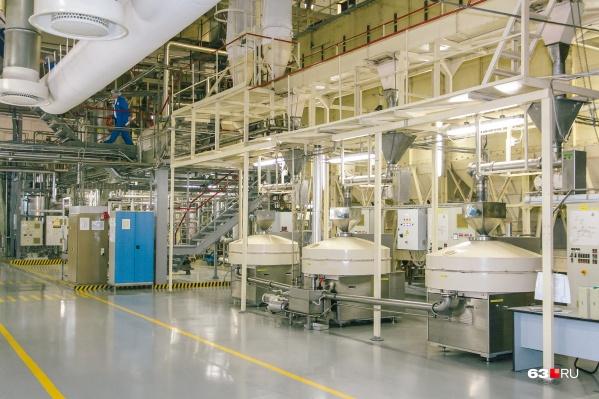 Завод специализировался на производстве масла