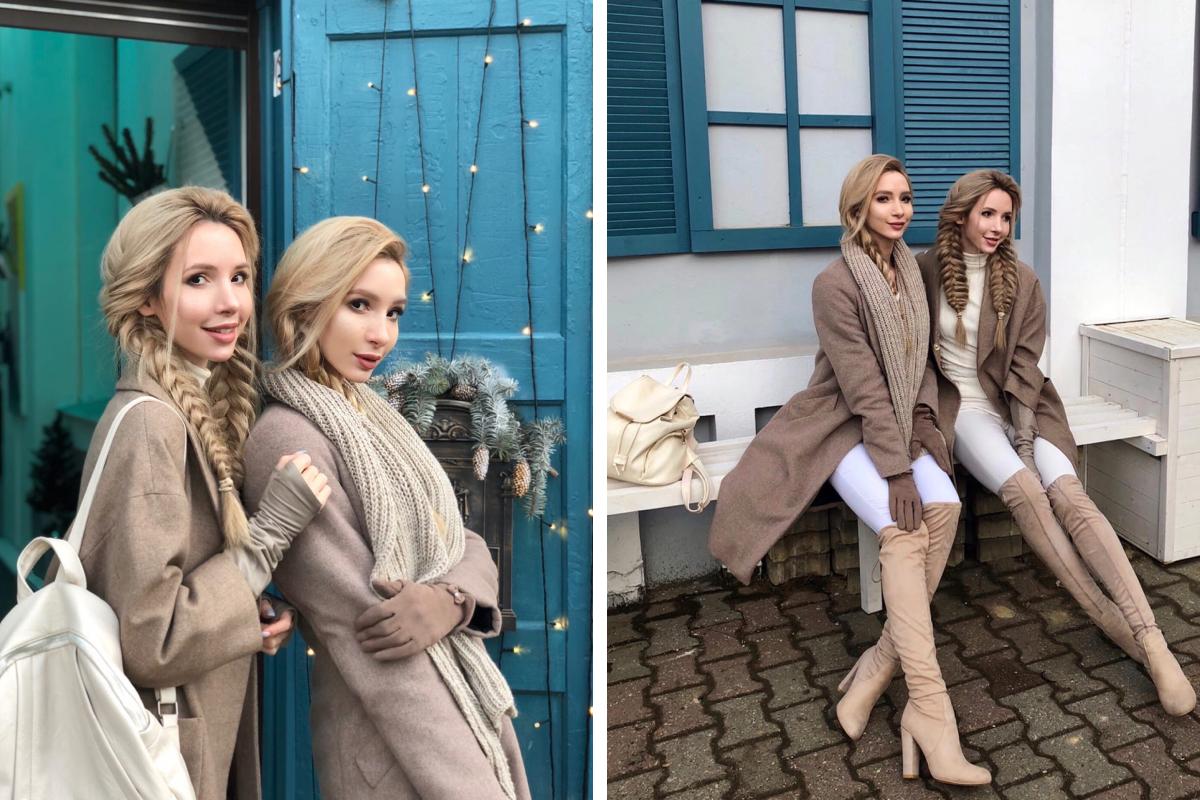Сестрам нравится их одинаковая внешность — это их гордость