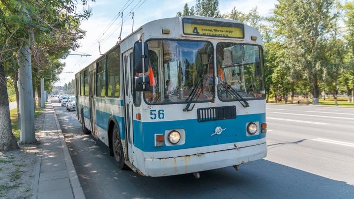 В Самаре изменили расписание движения всех троллейбусов по Московскому шоссе