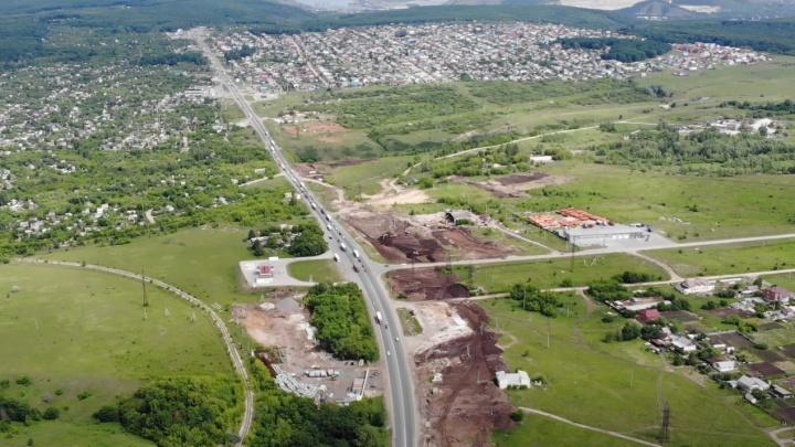Спасение от пробок: на М-5 в районе Жигулевска начали строить путепровод