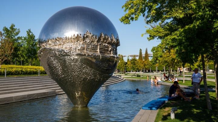 Администрация парка «Краснодар» напомнила о запрете купаться в водоемах