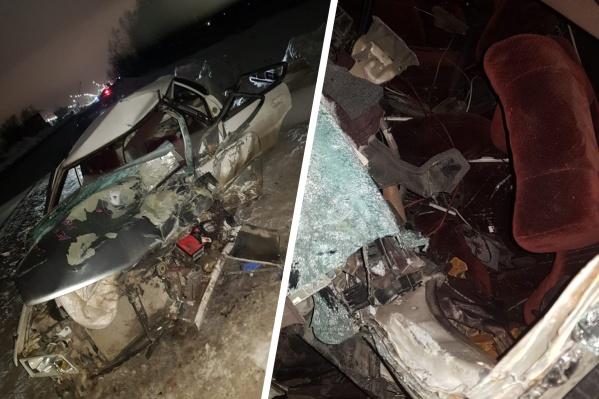 «Тойота» получила серьезные повреждения
