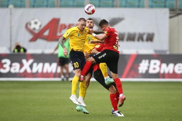 «Ростов» открыл счет на 14-й минуте