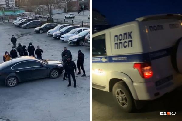 Группа вооруженных мужчин в масках пыталась захватить парковку, принадлежащую семье предпринимательницы