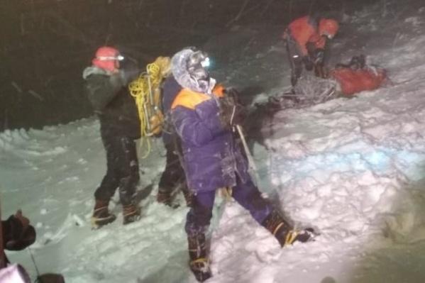 У большинства альпинистов обморожение