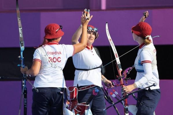 Ксения Перова завоевала медаль в командном турнире