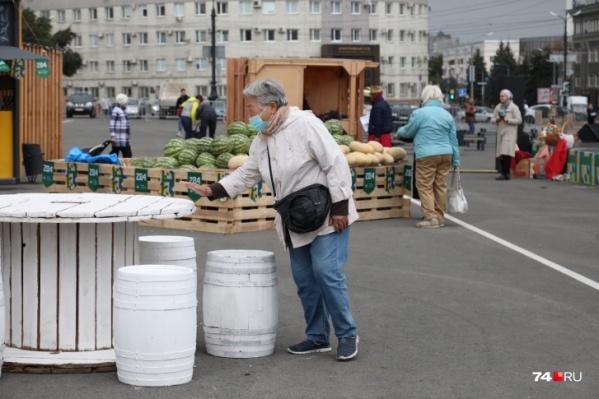 """Осенняя ярмарка на площади Революции обошлась Челябинску больше чем <nobr class=""""_"""">в 5 миллионов</nobr>"""
