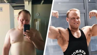 Терял по 5 кило в месяц: COVID убил его бизнес, но заставил из рыхлого астматика превратиться в гору мышц