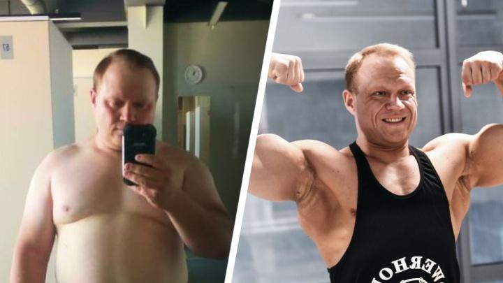 «За 5 месяцев сбросил 26 кило»: COVID убил его бизнес, но заставил из рыхлого астматика превратиться в гору мышц