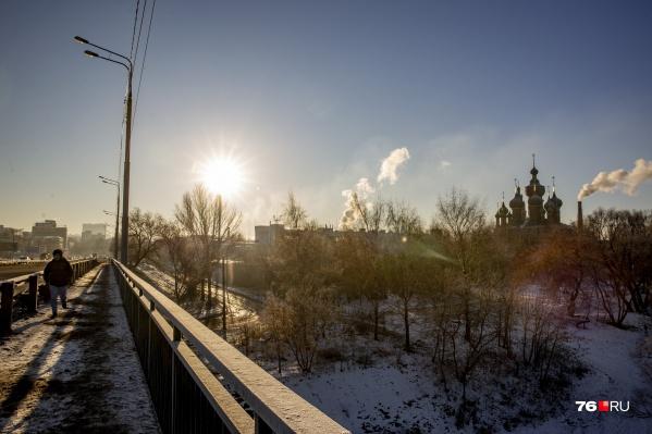 После оттепели в Ярославль вернутся морозы