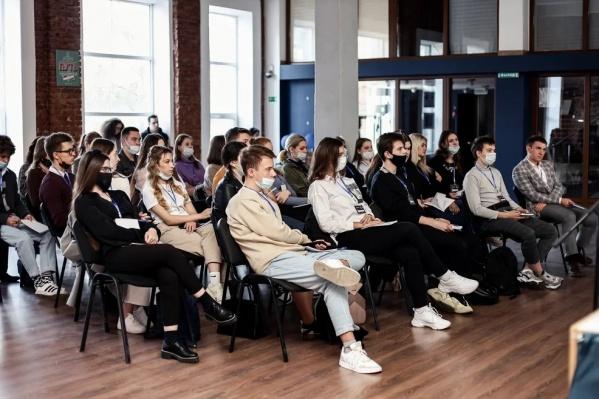 """Участники проектной школы «<nobr class=""""_"""">5 элемент</nobr>» изучают основы социального предпринимательства и проектирования"""