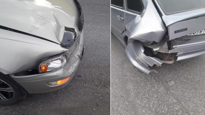 Новосибирца обвинили в том, что он въехал в зад выскочившей перед ним машины — что решил суд
