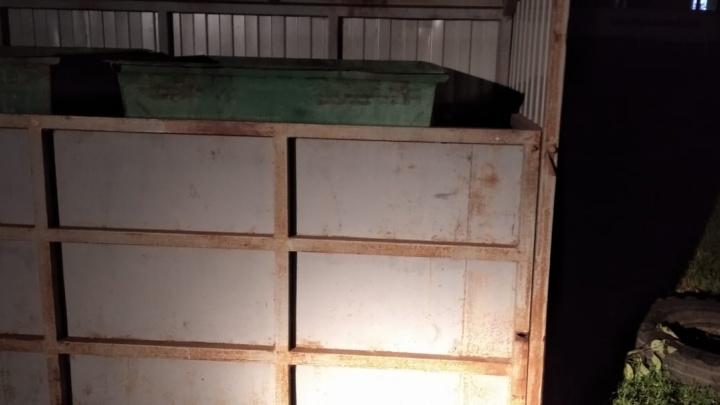 В уральской деревне стенка мусорной площадки упала на четырехлетнюю малышку