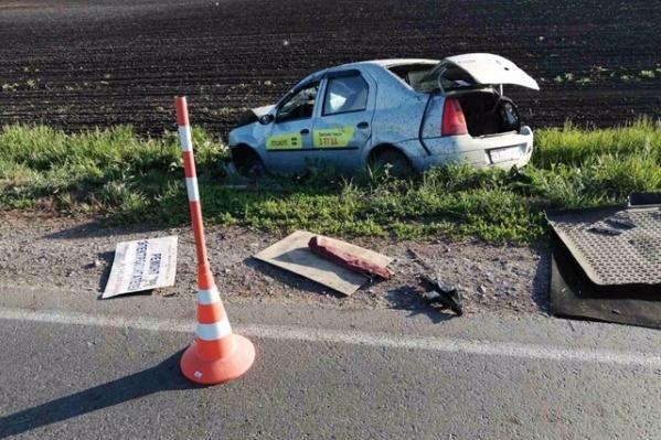 Водитель скончался на месте происшествия