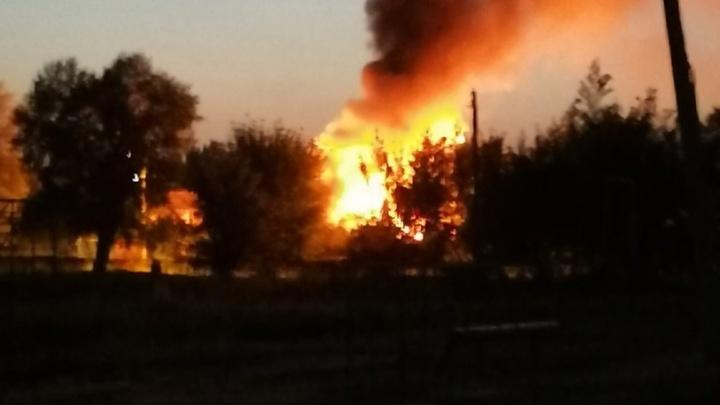 20 минут — и всё было кончено: в Волгограде сгорел жилой дом