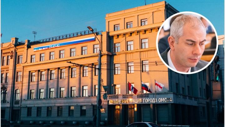 Фадину на посту мэра Омска временно заменит ее первый заместитель