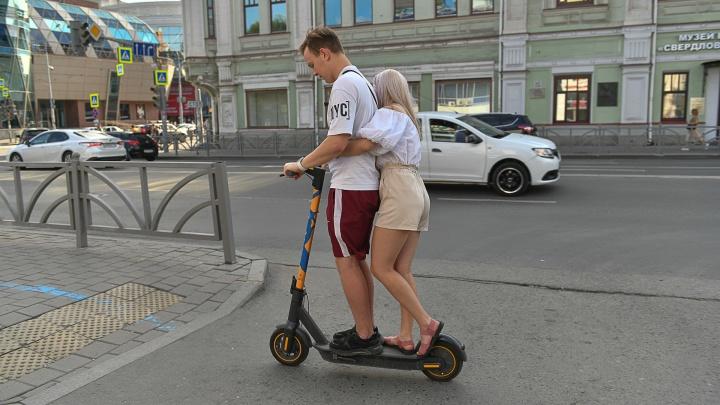 В Екатеринбурге появится разметка для самокатов: пешеходам придется потесниться