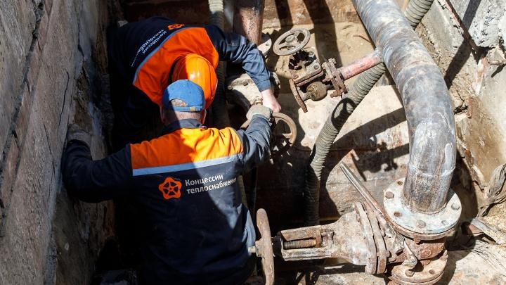 В Волгограде с понедельника без горячей воды останутся три десятка домов и университет