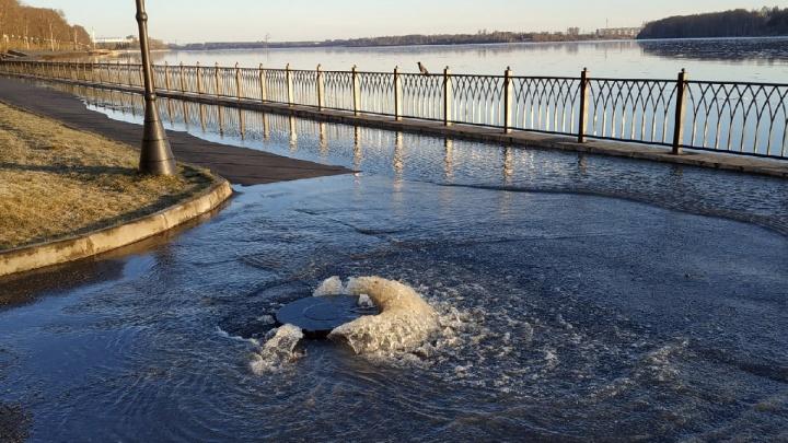 Спасатели выпустили экстренное предупреждение: в выходные Волга поднимется до опасного уровня