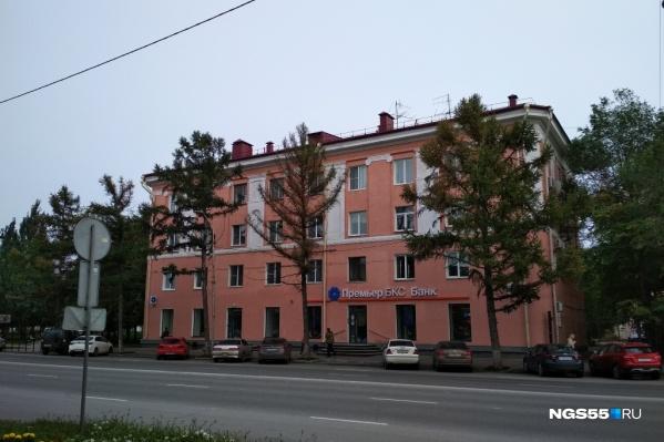 Лиственницы снесут на участке от Театрального сквера до улицы Ивана Алексеева