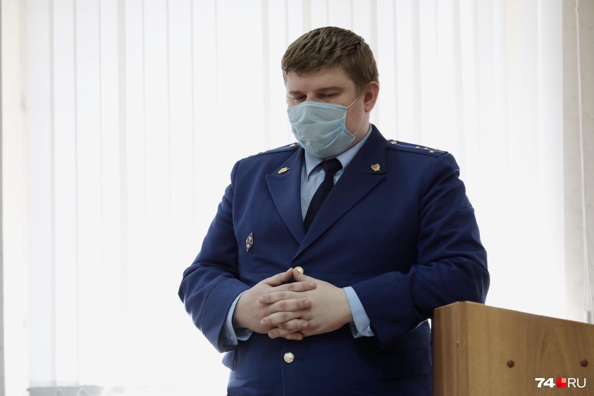 На протяжении всего срока Андрей Косилов не сможет выезжать за пределы Сосновского района — такова позиция гособвинителя