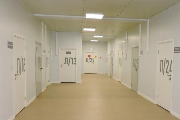 Новый ковид-госпиталь построили за 50 дней