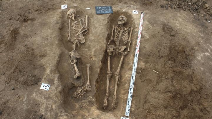 Скелеты повернуты на бок: в Самарской области нашли могильник времен монголо-татарского ига