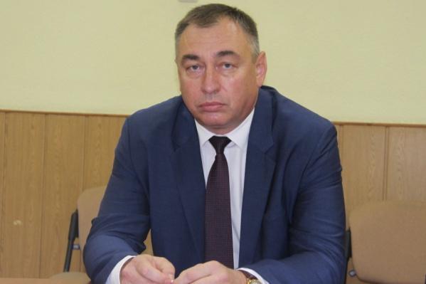 Виталий Першин стал главой Железнодорожного района