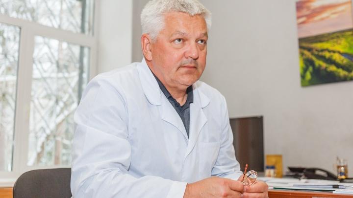 Главврач фтизиопульмонологического центра Прикамья Вадим Плотников написал заявление об уходе