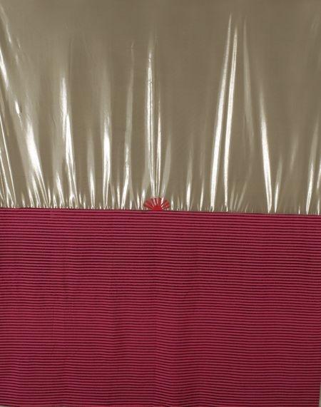 Тимур Новиков. Восход. Конец 1990-х. Ткань, акрил, 230х190 см