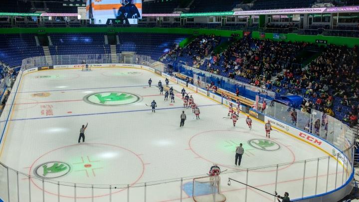 От души нашкодили: в «Уфа-Арене» прошел Международный юношеский хоккейный турнир