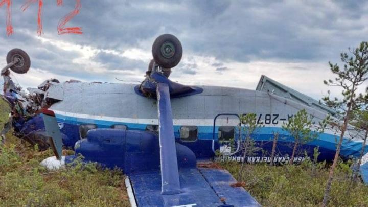 Названа возможная причина жесткой посадки самолета Ан-28 в Томской области