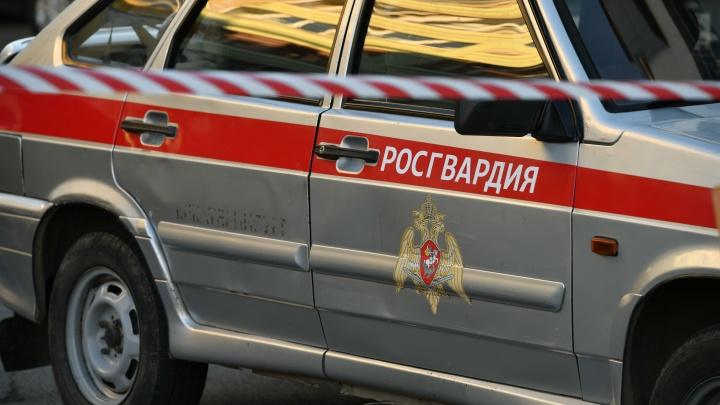 Бойцы Росгвардии проверили школы в Екатеринбурге после сообщений о готовящейся стрельбе