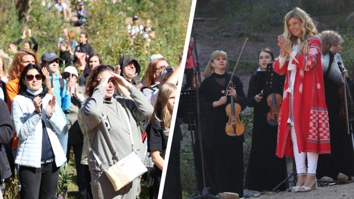 На «Столбах» концерт камерного оркестра вызвал ажиотаж и транспортный коллапс