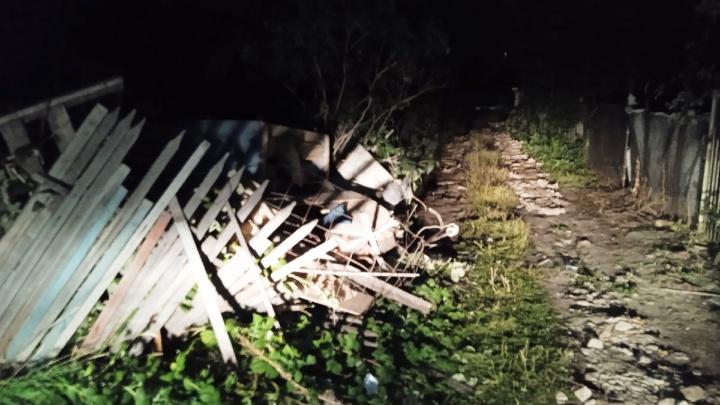 В Омске прогремел взрыв газа — полностью разрушен частный дом