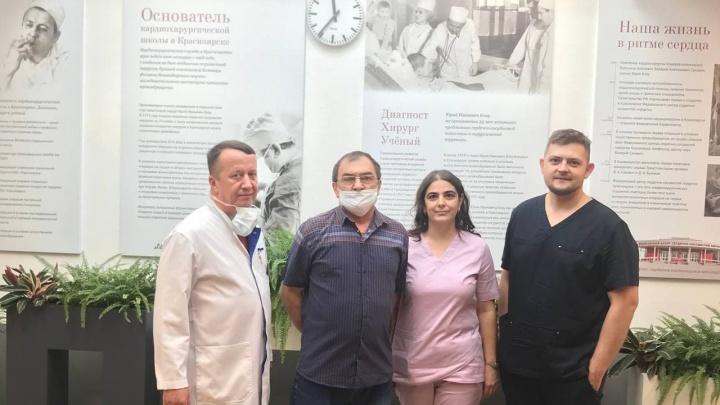 Красноярские кардиохирурги провели первую операцию по пересадке сердца во время пандемии