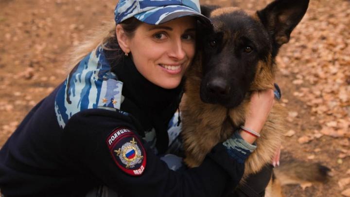 Кинолог Усть-Ишимского района победила в голосовании «Леди омская полиция»