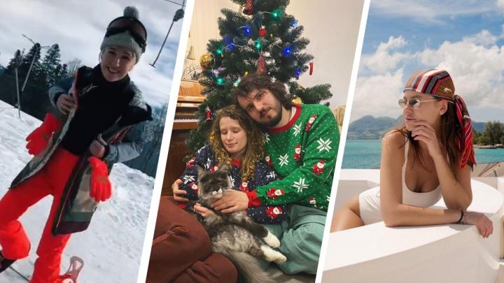 Мальдивы и Сейшелы — не для всех: как уральские знаменитости проводят новогодние каникулы