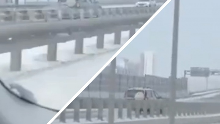 «Товарищ едет по встречке». Водителем, опасно ехавшим по тюменской дороге, заинтересовались в ГИБДД