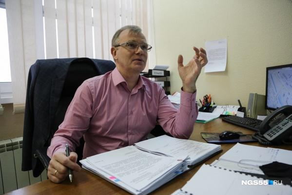 Вадим Кормилец работает в департаменте транспорта уже 13 лет
